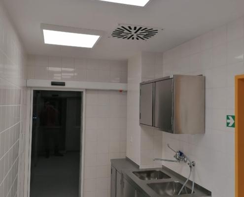 Thomayerova nemocnice - úprava operačních sálů