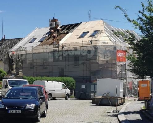 Rekonstrukce střešního pláště